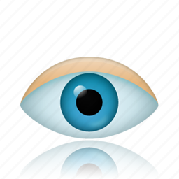 eye, find, search, see, view, watch, zoom icon