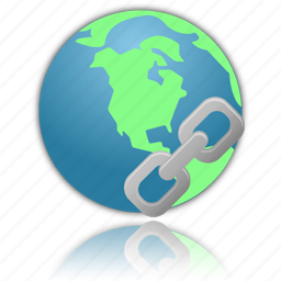 connect, connection, connections, earth, globe, hyperlink, insert, internet, network, planet, world icon