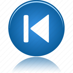 arrow, audio, back, backward, button, down, left, media, music, play, player, skip icon
