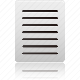 align, document, documents, file, format, justify, paper, text icon