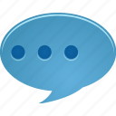bubble, chat, comment, communicate, message, talk icon