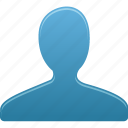 account, blue, group, male, man, people, profile, user, users icon