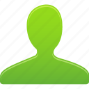 account, green, male, man, people, profile, user icon