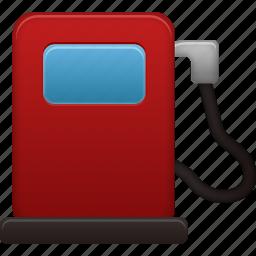 fuel, gas, gasoline, pump, station, traffic, transport, transportation, travel, vehicle icon