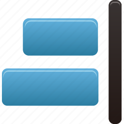 align, document, right, text icon