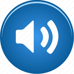audio, control, music, on, player, sound, speaker, volume icon