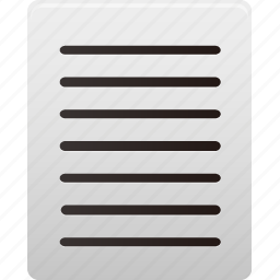 align, document, documents, file, files, justify, text icon