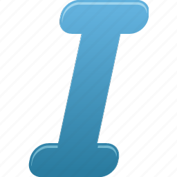 document, file, itailc, text icon