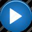 audio, control, media, music, play, player, sound, speaker, video icon