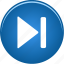 arrow, audio, fast, forward, music, next, play, right, skip, sound, video icon