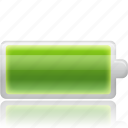 battery, cell, charge, charging, electric, electricity, energy, full, recycle icon