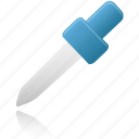 dropper, eyedroper, eyedropper, picker, pipette icon
