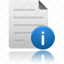 document, documents, file, files, info, information, paper, text icon