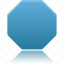 octagon, shapes, shape, draw, filled icon