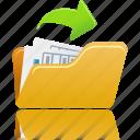 open, file, folder, paper, document, documents