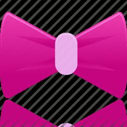 bow, bowknot, christmas, girl, present, ribbon, xmas icon