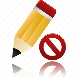 edit, invalidated, not, pencil, validated, write icon