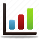 analytics, bar, business, chart, charts, diagram, finance, graph, pie, report, statistics icon