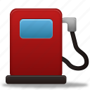 fuel, gas, gasoline, oil, pump, station, transport, transportation, travel icon