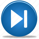 arrow, audio, button, fast, forward, media, music, next, play, player, right, skip icon
