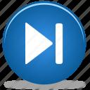 arrow, audio, button, fast, forward, media, skip
