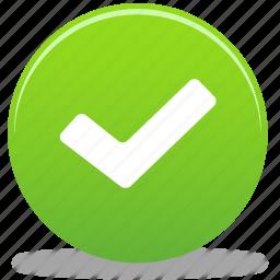 accept, check, ok, tick, yes icon