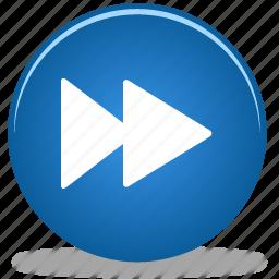 arrow, fast, forward, go, next, right icon