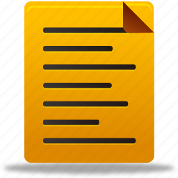 document, documents, file, files, note, notes icon