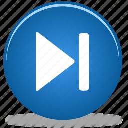 Forward Skip Arrow Fast Button Media Audio Icon