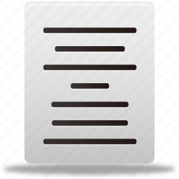 align, center, document, documents, file, files, text icon