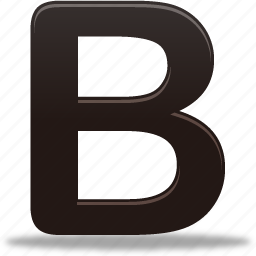 bold, document, text icon