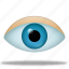 eye, find, search, see, view, watch icon