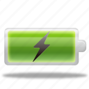 battery, change, charge, charging, electric, electricity, energy, power icon