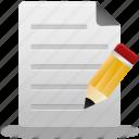 document, documents, edit, education, file, paper, write