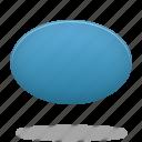 draw, ellipse, filled, shape icon