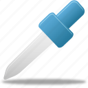 eyedropper, picker, pipette icon