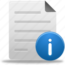 document, documents, file, files, info, paper, text icon