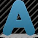 font, a, text, letter, message