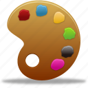 art, brush, color, design, graphic, paint, palette icon
