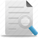 search, file, documents, zoom, paper, document, find