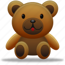 animal, animals, bear, pet, teddy, teddy bear, toy icon