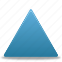 draw, filled, shape, shapes, triangle icon
