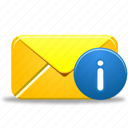 email, envelope, info, information, letter, mail, message icon