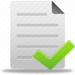 accept, check, complete, document, documents, file, paper icon