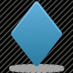 draw, filled, rhombus, shape, shapes icon