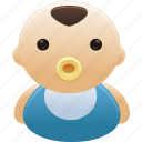 baby, boy, child, newborn icon