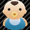 baby, boy, child, newborn icon