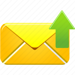 email, envelope, letter, mail, message, send, success icon