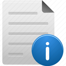 document, documents, file, files, info, information, paper icon