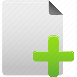 add, document, documents, file, new, paper, plus, text icon